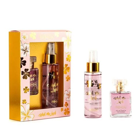 Pereja Mini Parfüm 25 ml + Pereja Body Mist 100 ml  Wish Me Luck ( 2'li Set)